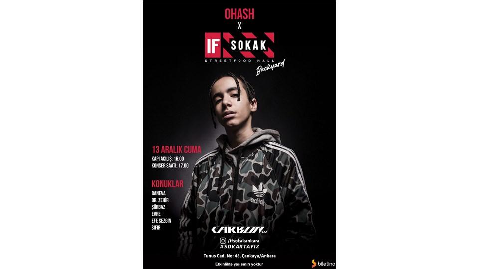 Ohash IF SOKAK Konseri Ankara