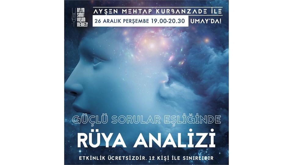 Ayşen Mehtap Kurbanzade ile Güçlü Sorular Eşliğinde Rüya Analizi