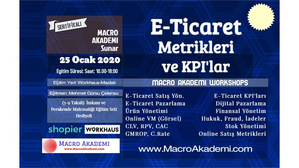 E-Ticaret Metrikleri ve KPI'lar Eğitimi