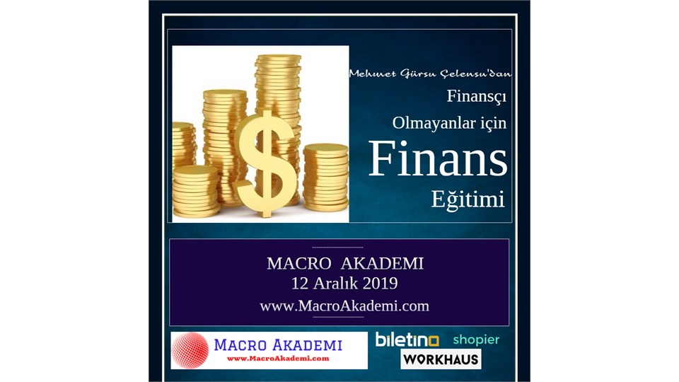 Finansçı Olamayanlar için Finans Eğitimi