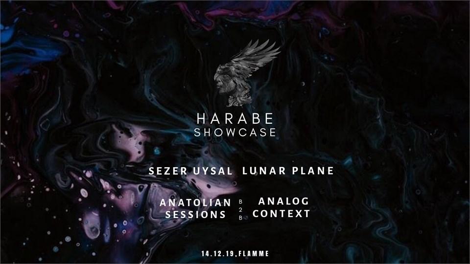 Harabe Showcase II w/ Sezer Uysal,Lunar Plane,Anatolian Sessions,Analog Context