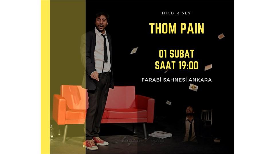 Thom Pain - Farabi Sahnesi Ankara