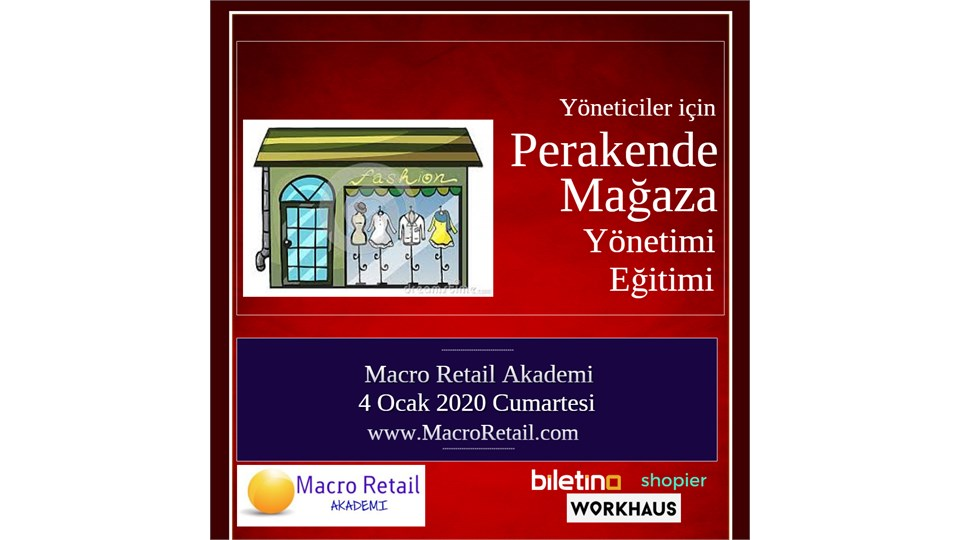 Perakende Mağazacılık Yönetimi Eğitimi