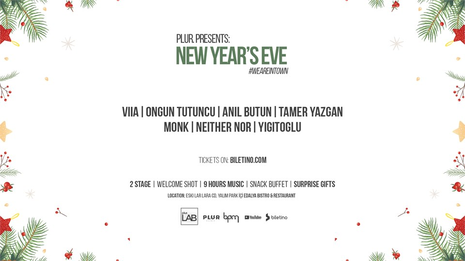 Plur Presents: New Year's Eve 2020 #weareintown
