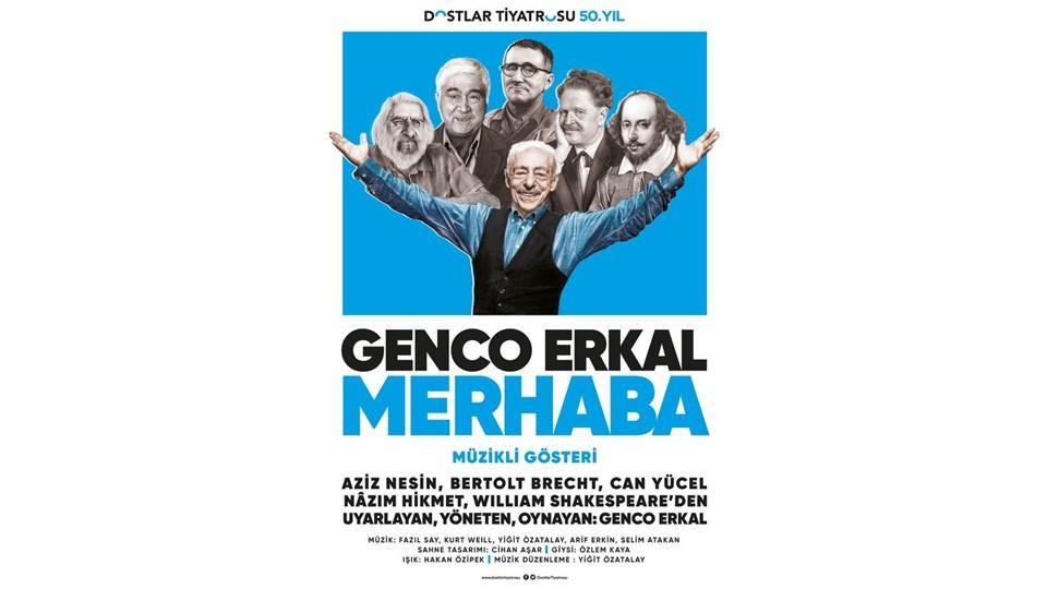 GENCO ERKAL,  'MERHABA'  MÜZİKLİ GÖSTERİ