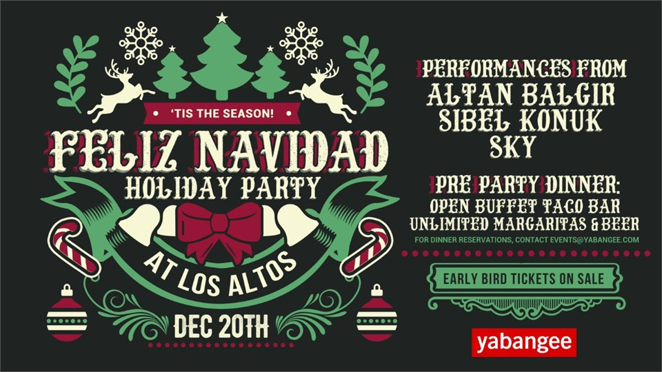 Feliz Navidad Holiday Celebration