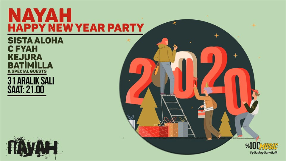 Nayah Happy New Year Party 2020