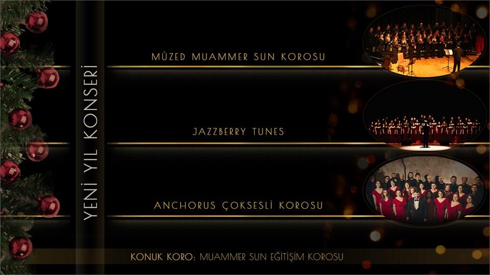 Ankara Koroları Yeni Yıl Konseri